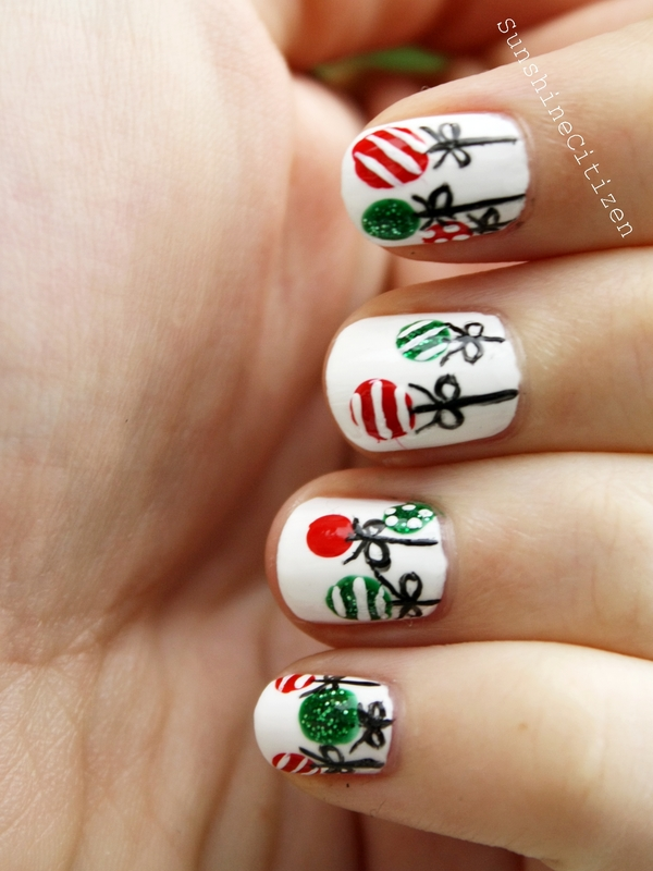 top 51 most beautiful christmas nail art ideas for you to
