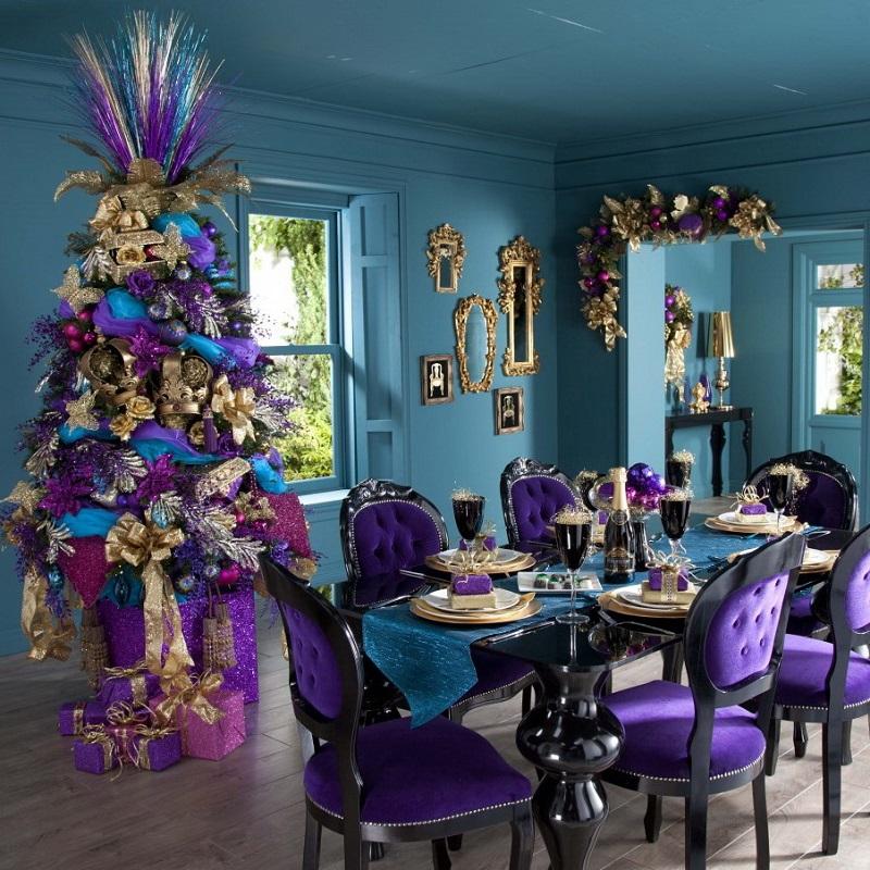Glamorous Modern Christmas Decorations