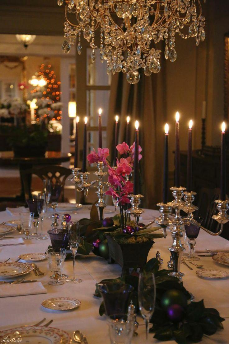 40 christmas table decors ideas to inspire your pinterest for Fancy dinner table