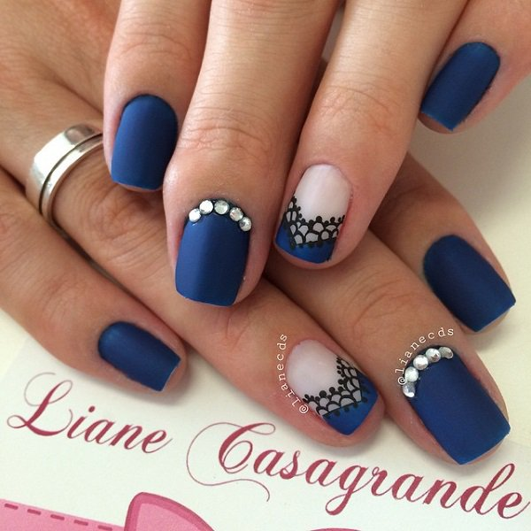 Blue-nail-art-designs-and-ideas-11 - Blue-nail-art-designs-and-ideas-11 - Easyday