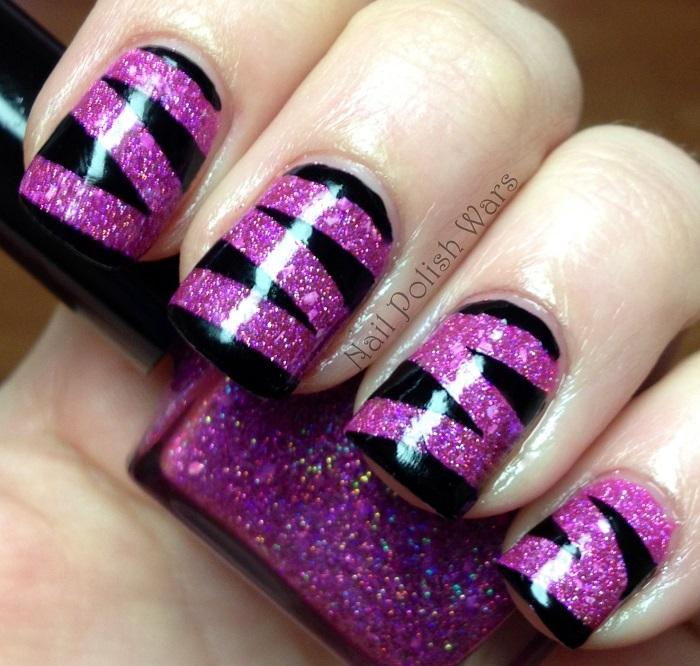 Purple-Cute-Acrylic-Nail-design