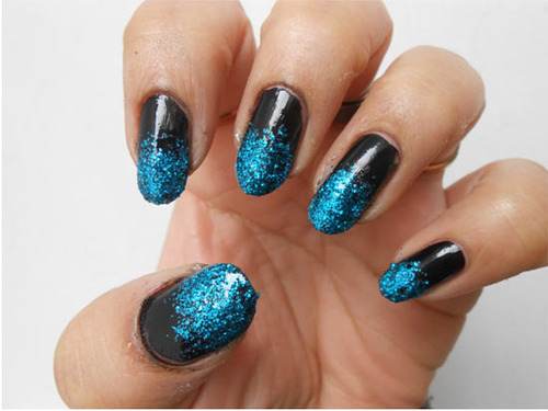 Glitter Nail Art Tutorial 4 Easyday