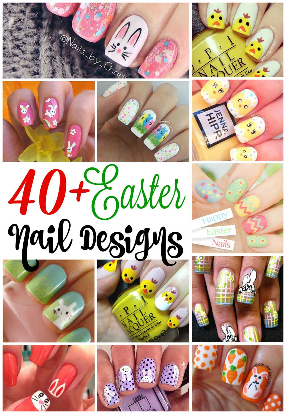 Easter Nail Art Designs Easyday