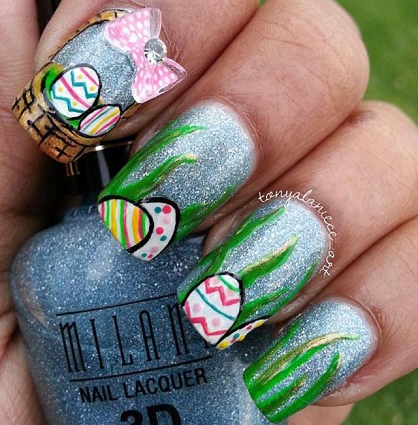 40+ Insanely Cute Easter Nail Designs For Your Inspiration - Easyday