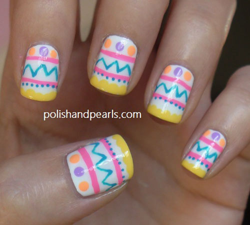 40 insanely cute easter nail designs for your inspiration easyday easter nail art designs 32 prinsesfo Choice Image