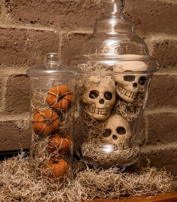 Creepy diy halloween decorations for a spooky halloween Scary halloween decorating ideas inside