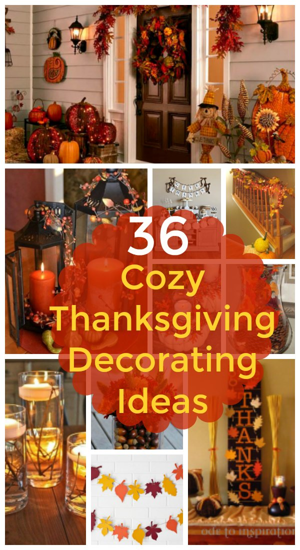 Cozy Thanksgiving Decorating Ideas