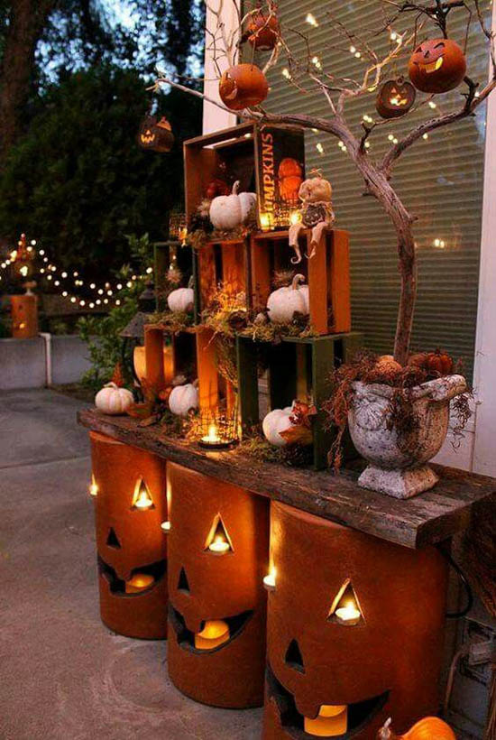 30 eye catching outdoor thanksgiving decorations ideas for Decor 17