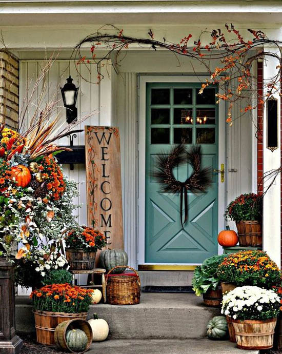 outdoor thanksgiving decorations ideas 2 easyday