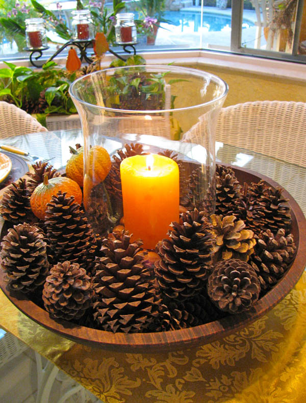 Be inspired by things around you to make these beautiful Thanksgiving centerpieces with these easy ideas, since your holiday table just isn't complete without a lovely Thanksgiving DIY focal point.