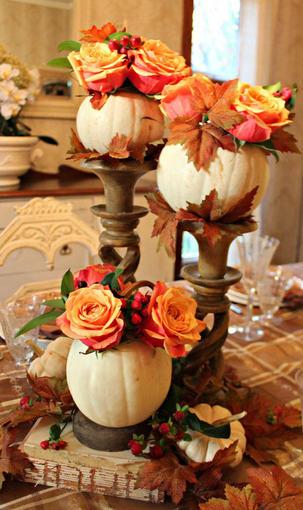 thanksgiving table decorations 31 stylish thanksgiving table decor ideas easyday 12441