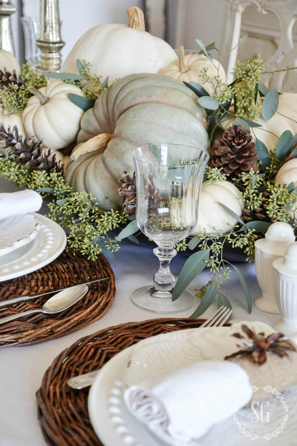 Thanksgiving table decorating ideas easyday