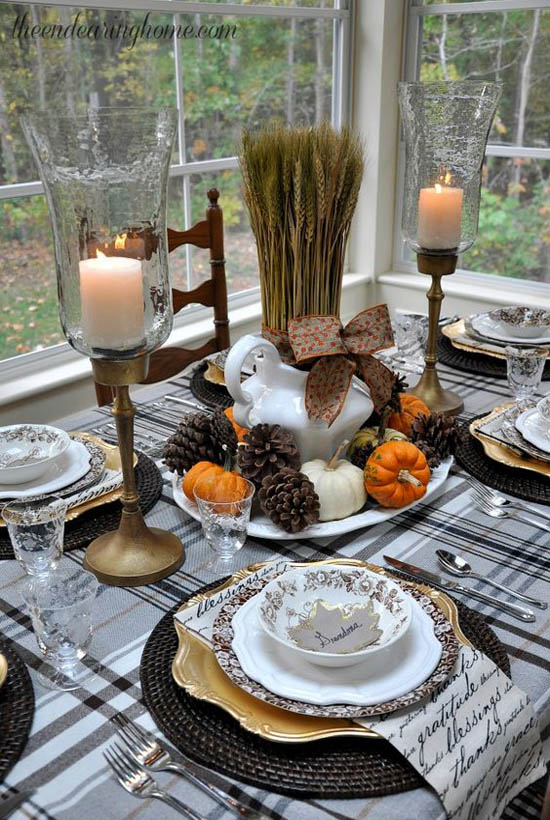 23 best thanksgiving table setting ideas 2016