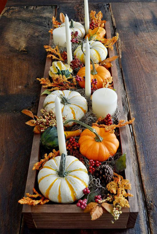 31 stylish thanksgiving table decor ideas easyday Decorating thanksgiving table
