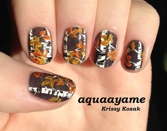fall nail art designs 11