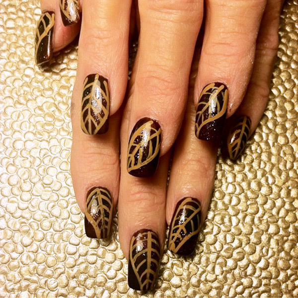 Fall Nail Art Designs 14 Easyday