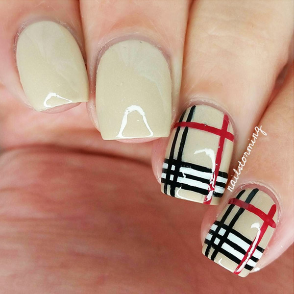 Simple Elegant Fall Nail Designs: Fall Nail Art Design Ideas