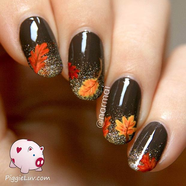 fall nail art designs 23