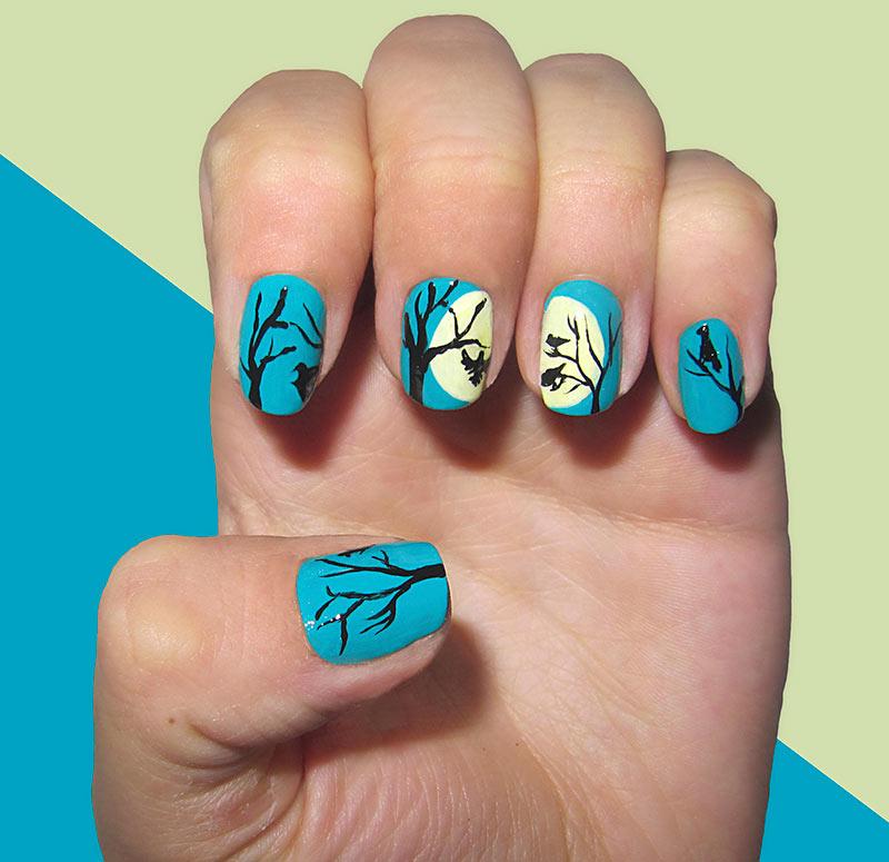 fall nail art designs 27