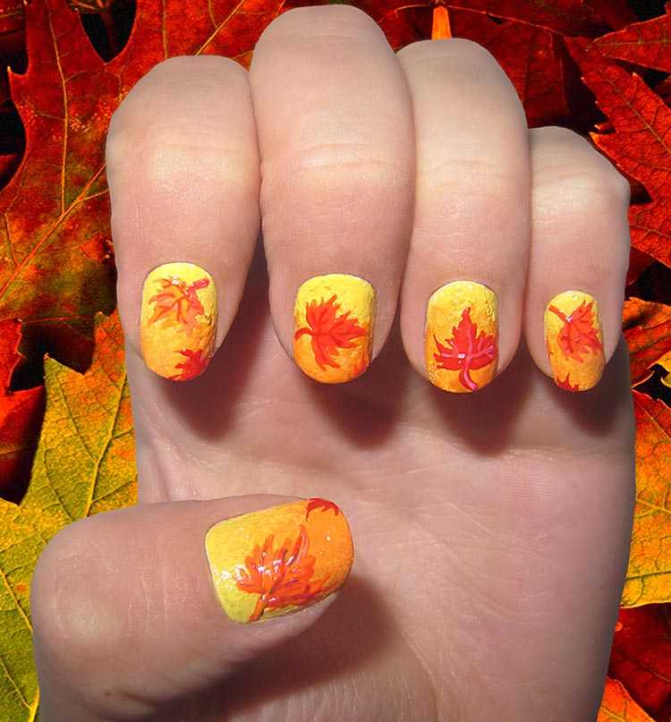 fall nail art designs 32