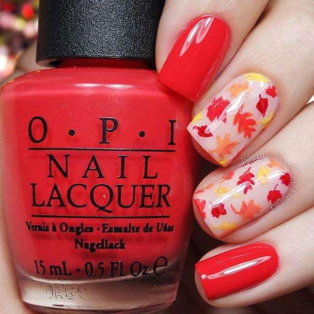 fall nail art designs 33