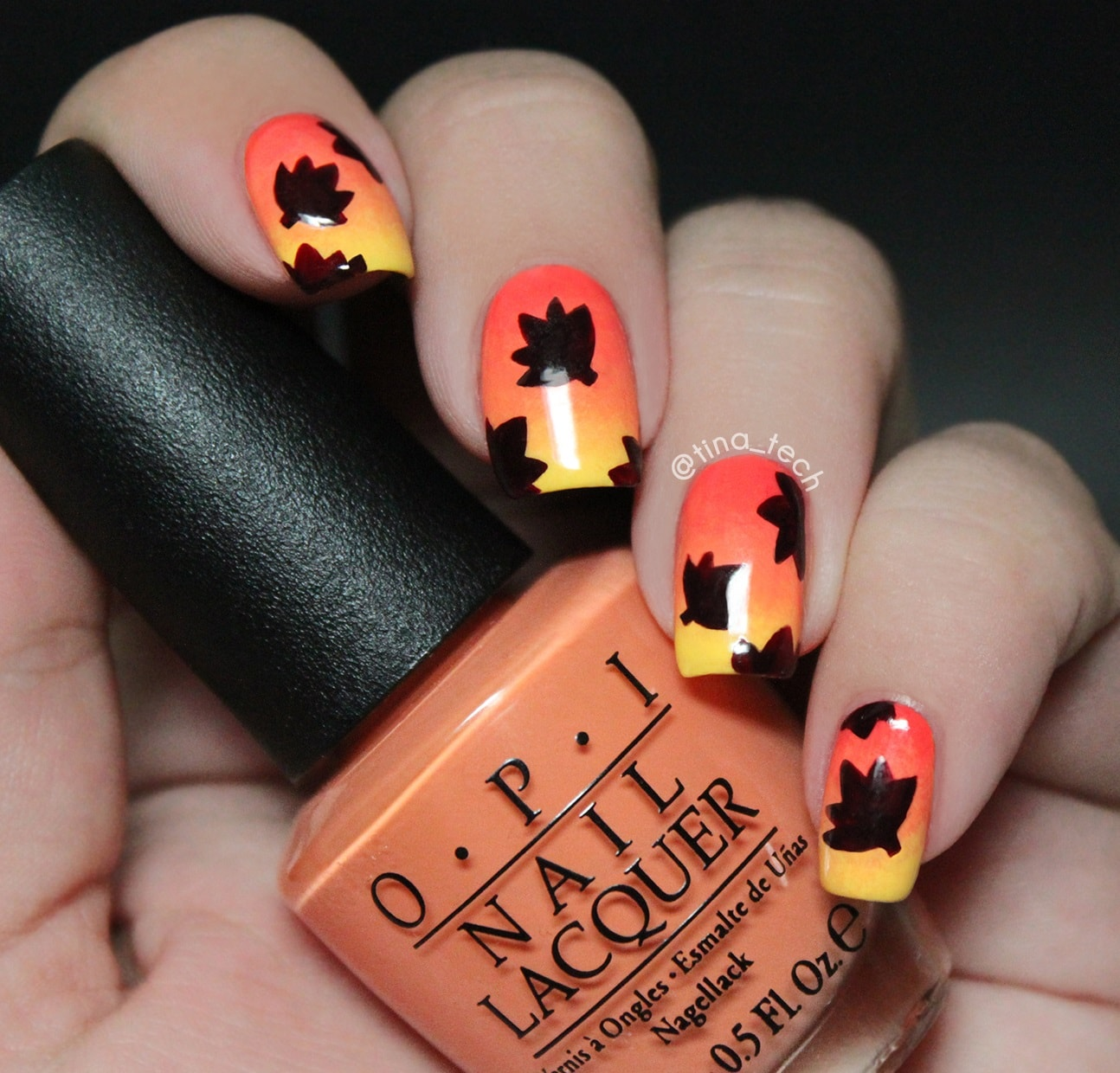 fall nail art designs 35