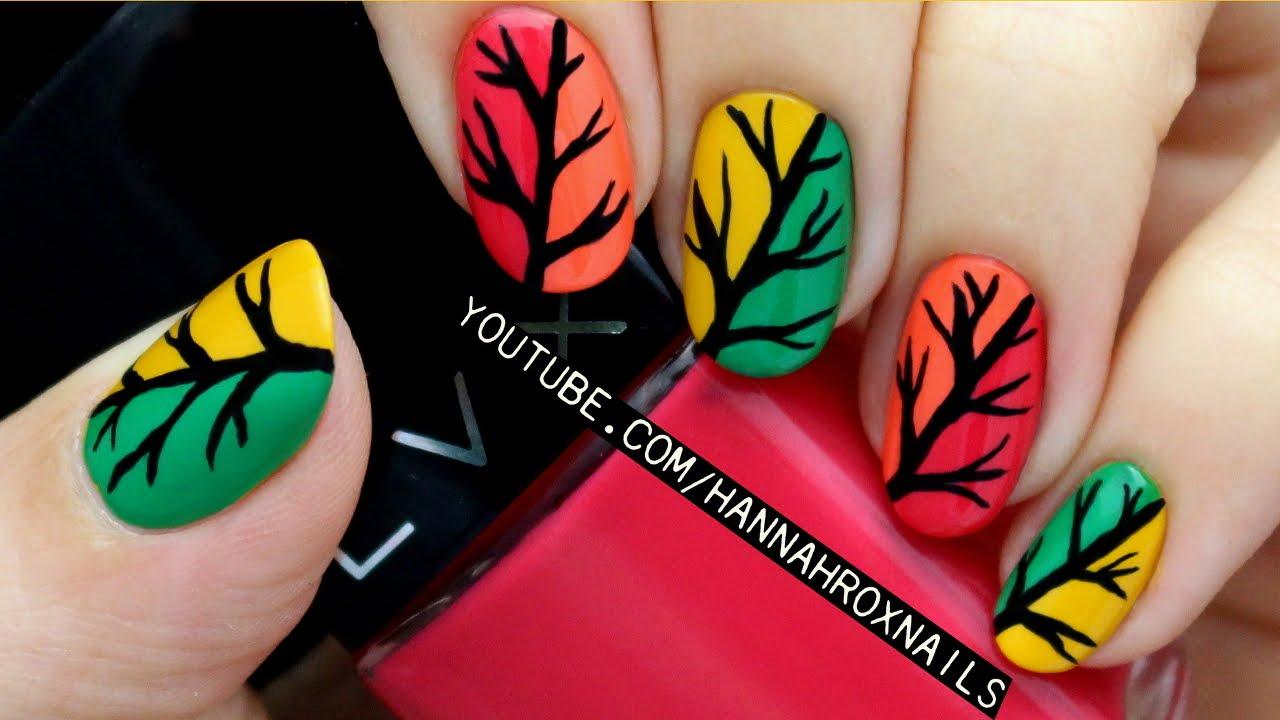 fall nail art designs 8