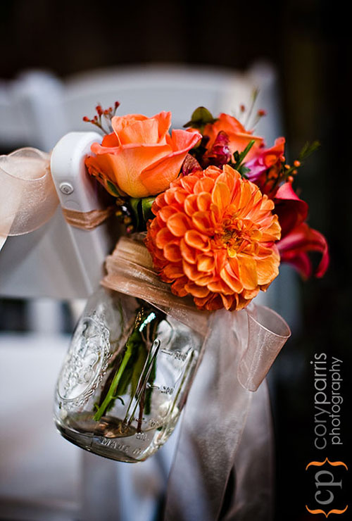 Here you will find a wide array of decorating ideas for your wedding reception. All of the flowers used in these decorations match exactly with the roses in the bridal bouquets and other wedding flowers.