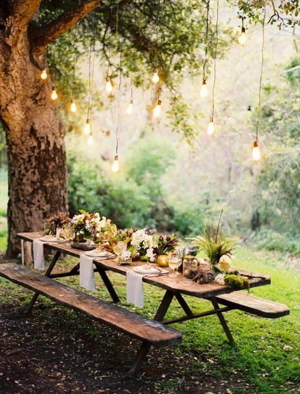 garden wedding decoration ideas 22