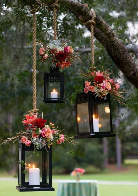 garden wedding decoration ideas 28