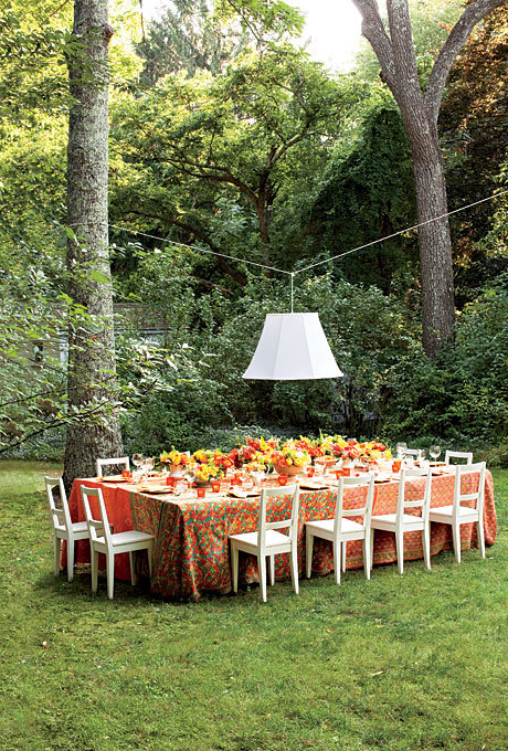 garden wedding decoration ideas 5