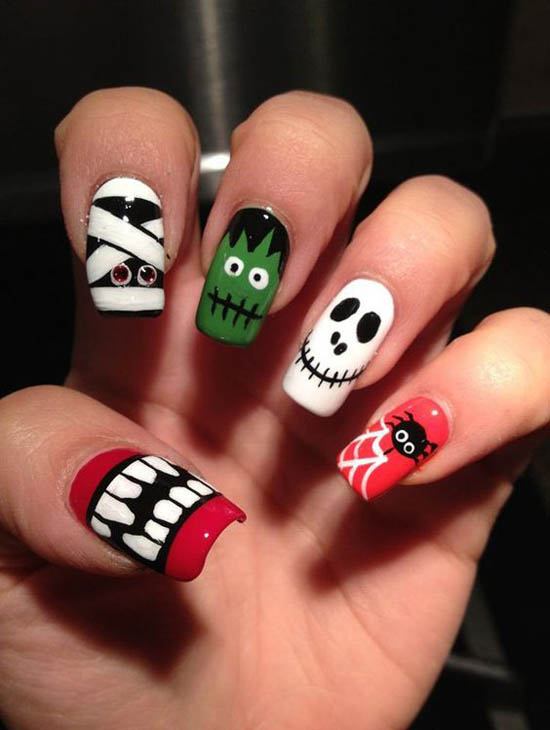 halloween-nail-art-design-18 - Easyday