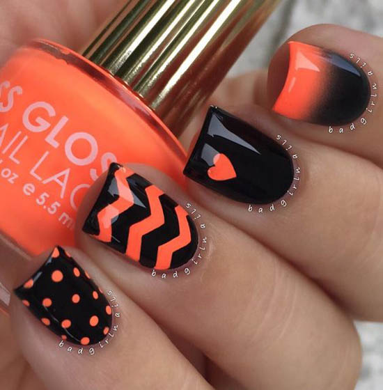 Pics Of Nail Art: 36 Spooktacular Halloween Nail Art Designs