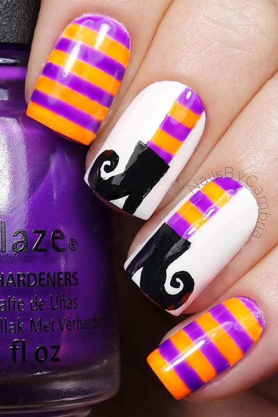 Halloween Nails: 36 Spooktacular Halloween Nail Art Designs