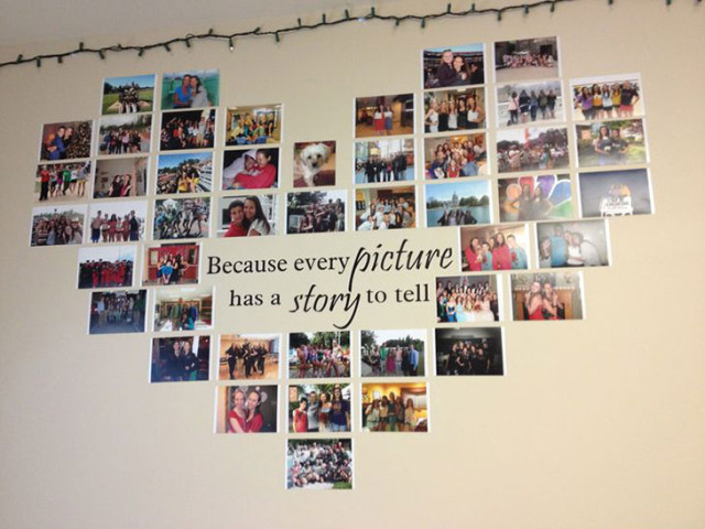 creative picture display ideas - Crafty Ideas to Display your s in Any Room Easyday