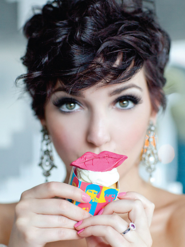 wedding hairstyle for short hair 10