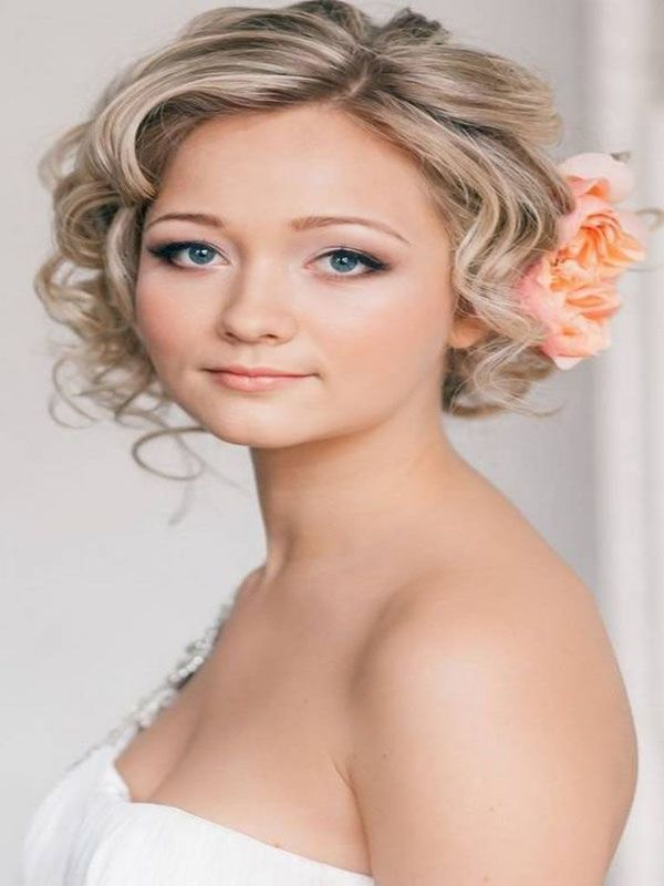 wedding hairstyle for short hair 18