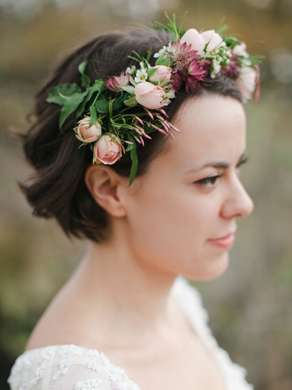 wedding hairstyle for short hair 2