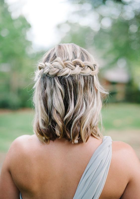 wedding hairstyle for short hair 29