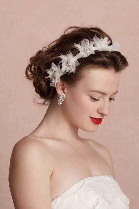wedding hairstyle for short hair 4