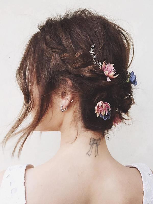 wedding hairstyle for short hair 5
