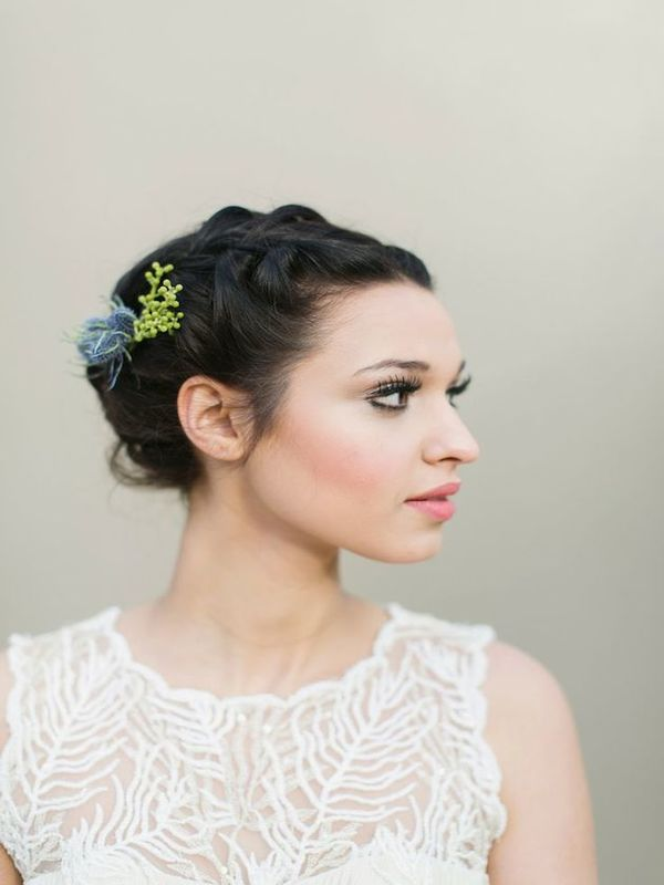wedding hairstyle for short hair 6