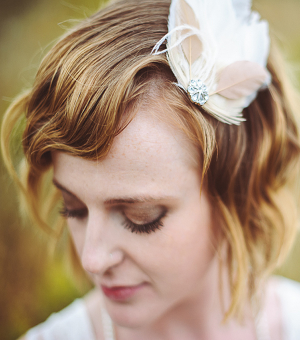 wedding hairstyle for short hair 8