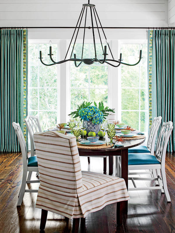 Kiawah Island project, Elizabeth Newman decorator, dining area