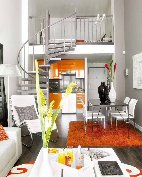 Small spaced apartment design 1
