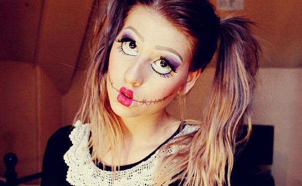 scary,doll,halloween,makeup,tutorial \u2013 Easyday
