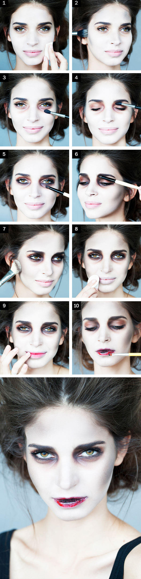 zombie-bride-halloween-makeup-tutorial