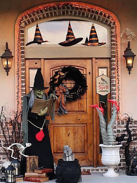 Halloween Porch Decoration Ideas 1