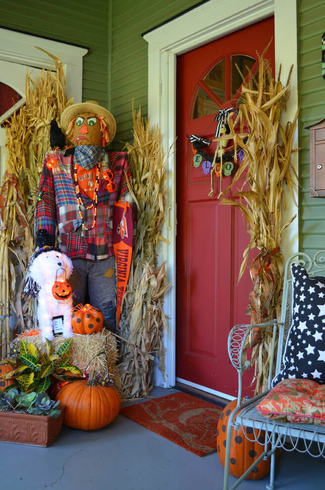 Halloween Porch Decoration Ideas 11