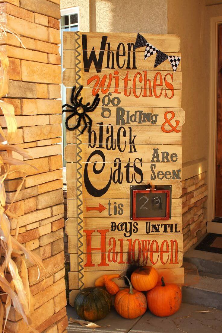 Halloween Porch Decoration Ideas 21